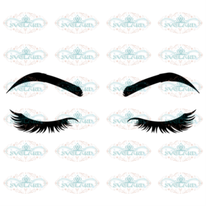 Eyelashes svg free, eyebrows svg, lashes svg, instant download,