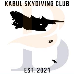 Kabul Skydiving Club Est 2021 SVG TB210821DT02
