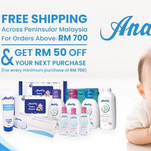 Free Shipping Anakku Products!