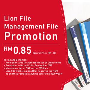 Lion File Promo