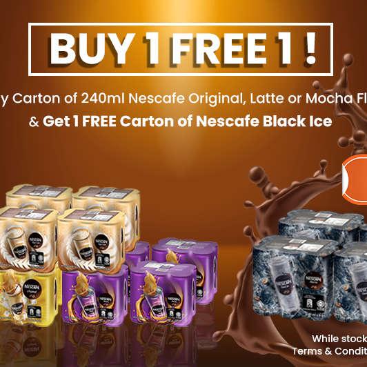 Nescafe Buy 1 Get 1 Free
