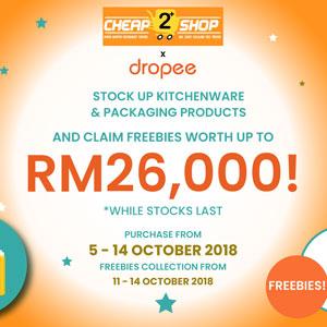 Cheap2Shop x Dropee