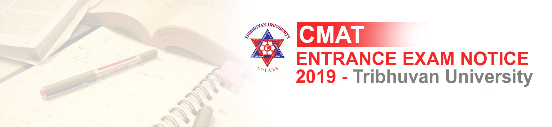 CMAT Entrance Exam 2019: Tribhuvan University