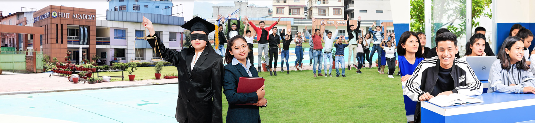 HRIT Academy announces admissions open for +2 Management, Law and Humanities