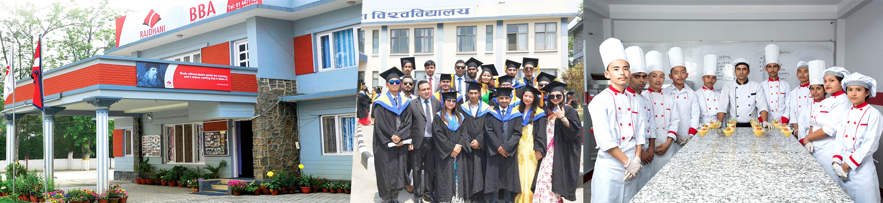 Rajdhani Model College announces admission in  BBA and BHM