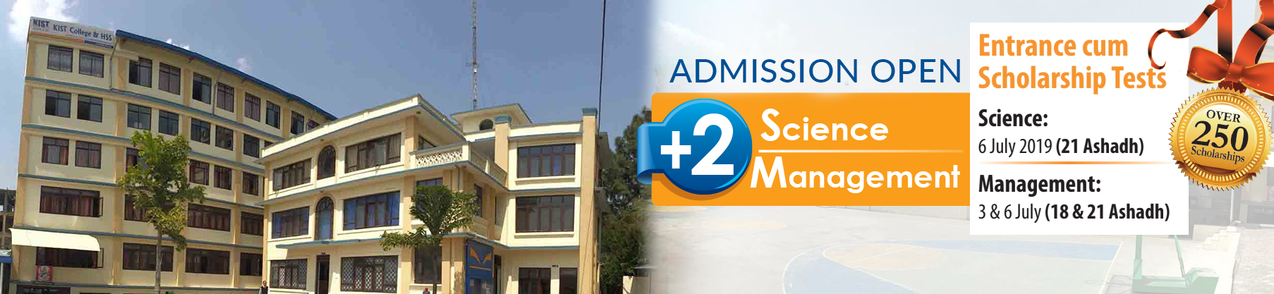 KIST SS/College announces admission for +2 Science and Management
