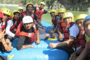 Rafting program of Phoenix College of Management