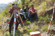 Students in field survey Training