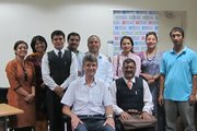 With Executive Director of British Council, Nepal