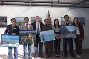 Winner in Photo Contest and with Israel Ambassador to Nepal
