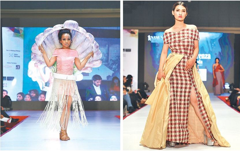 Student Designers Of Namuna College And Fashion Technology Flaunt Edgy Creations