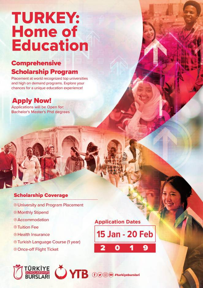International Scholarships For Women Top Universities >> Turkish Government Scholarship Program To Study Bachelors Masters