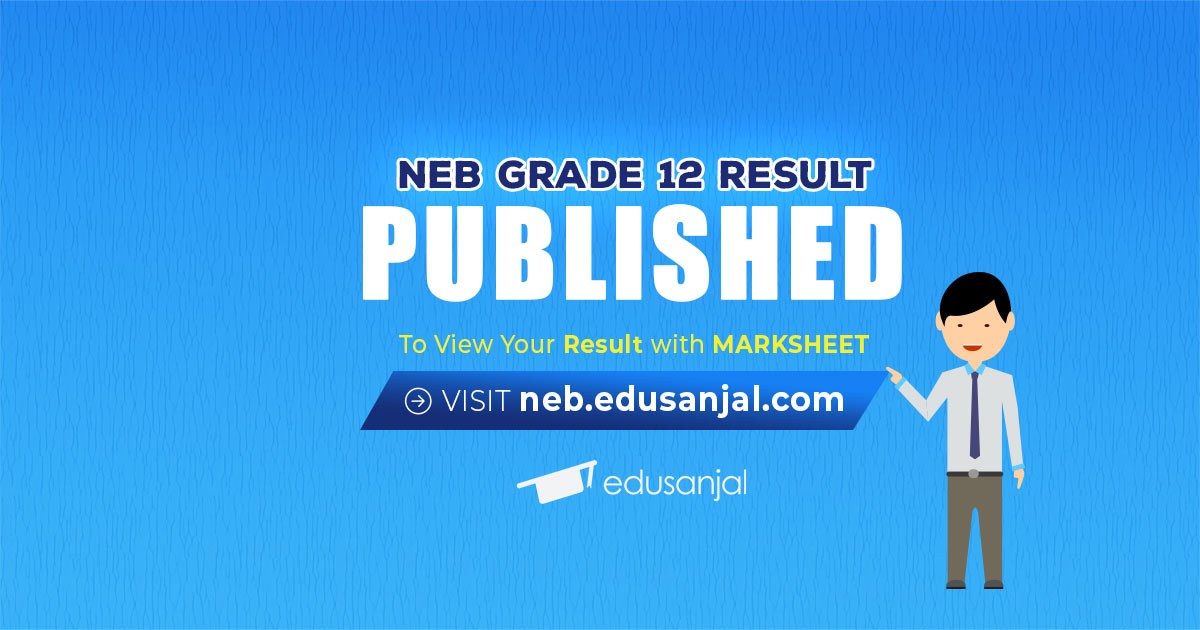 Grade 12 Examination Results 2076 Published