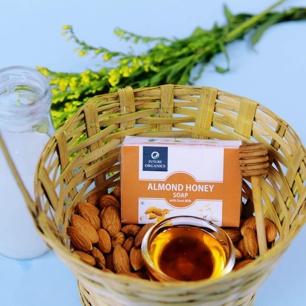 Almond Honey Handmade Soap (Set of 2)