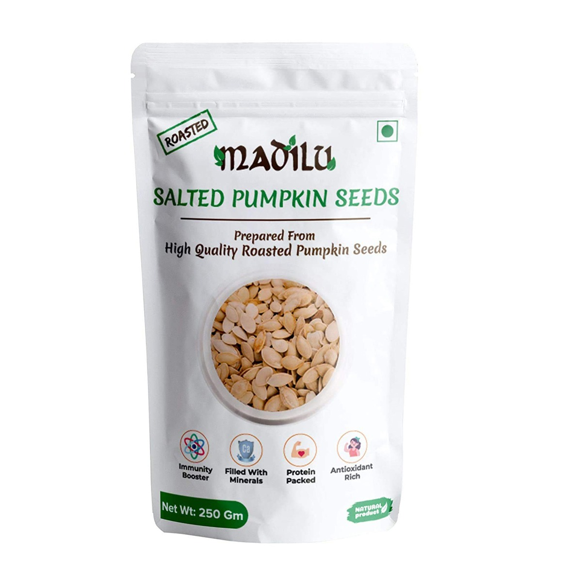 PUMPKIN  SEEDS ROSTED BY MADILU
