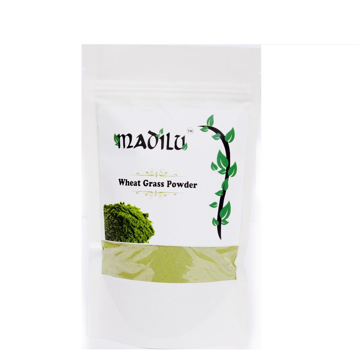 WHEAT GRASS POWDER BY MADILU
