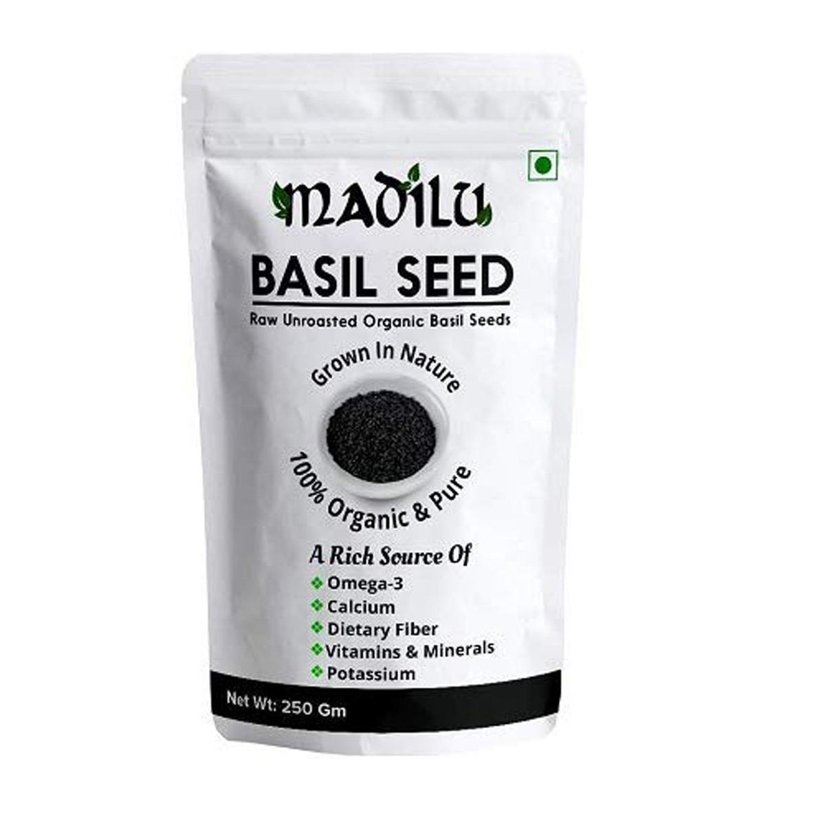 BASIL SEEDS BY MADILU