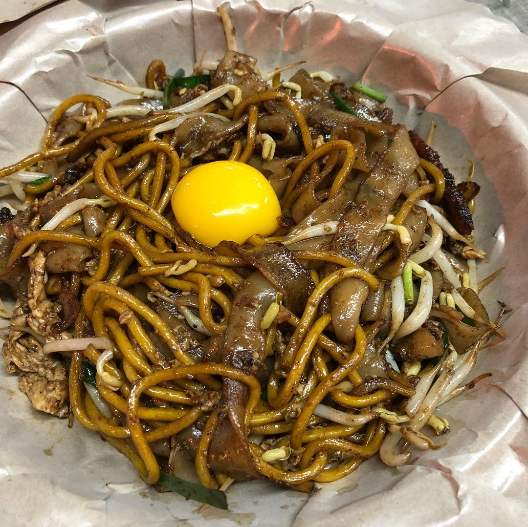 Charcoal Fried Kway Teow