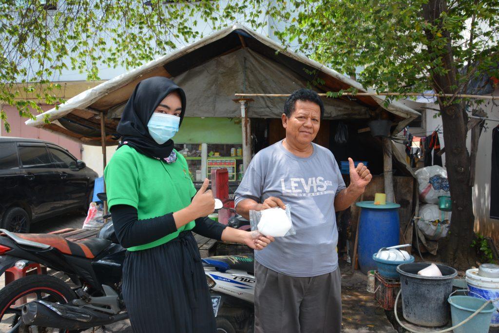 PT. Jaya Putra Multiguna Membagikan Masker ke Masyarakat Sekitar