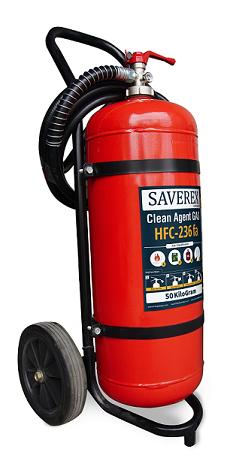 APAB Tabung Pemadam Kebakaran Api Gas Clean Agent HFC-236FA Isi 50 Kg