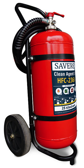 APAB Tabung Pemadam Kebakaran Api Gas Clean Agent HFC-236FA Isi 25 Kg