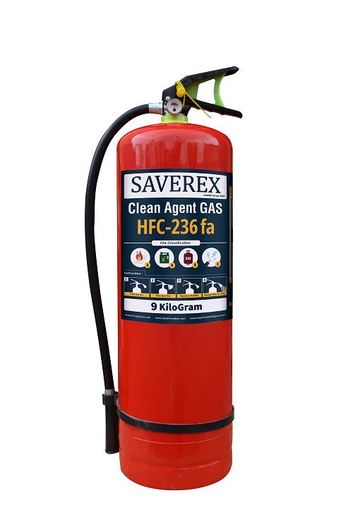 APAR Tabung Pemadam Kebakaran Api Gas Clean Agent HFC-236FA Isi 9 Kg