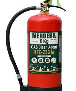 Alat Pemadam Kebakaran Api Gas Clean Agent APAR HFC-236FA Cap. 6 Kg