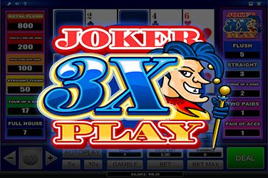 3X JOKER PLAY