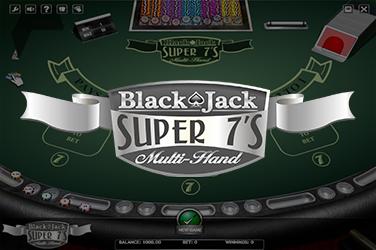 BLACKJACK SUPER 7'S MULTIHAND