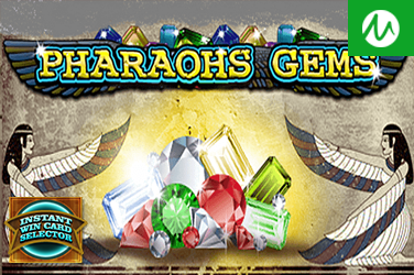 INSTANT WIN CARD SELECTOR PHARAOHS GEMS