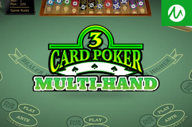 MULTI HAND 3 CARD POKER