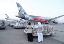 UAE sends Indonesia medical aid to fight COVID-19