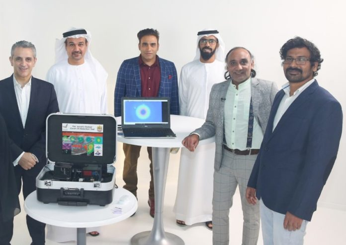 UAE develops COVID-19 rapid test technology with laser