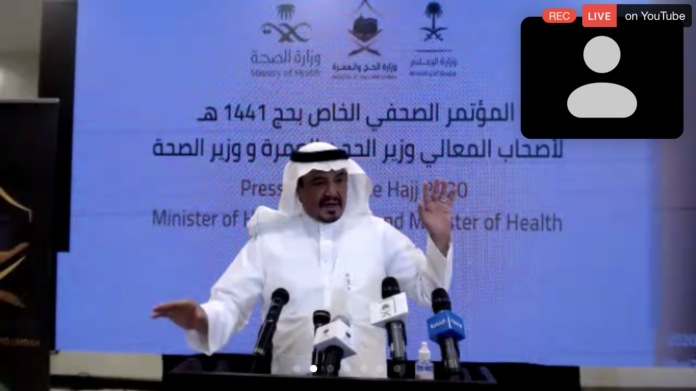 Number of hajj pilgrims this year no more than 10,000