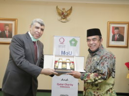 Qatar Charity, Indonesian Ministry continue cooperation worth US$30 million