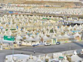 Tenda jamaah haji tahun ini empat kali lebih luas