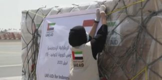 COVID-19 - UAE distributes 1,000 tons of protective equipment for 1 million medical personnel worldwide