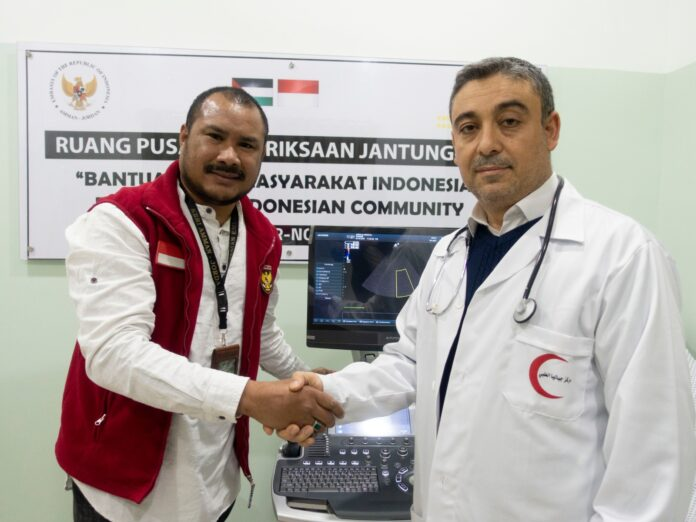 Indonesia bantu alat pemeriksaan jantung bagi Palestina