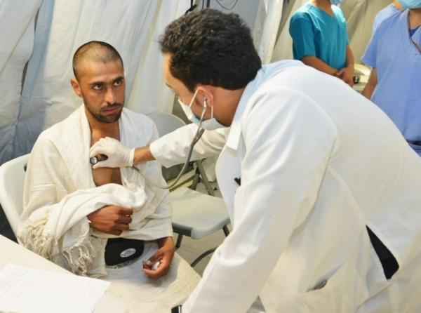 Haji1441 - Satu pemimpin kesehatan layani 50 jamaah