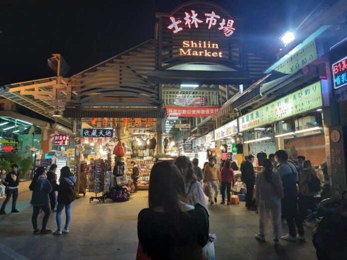 Everything available in Taiwan's night markets