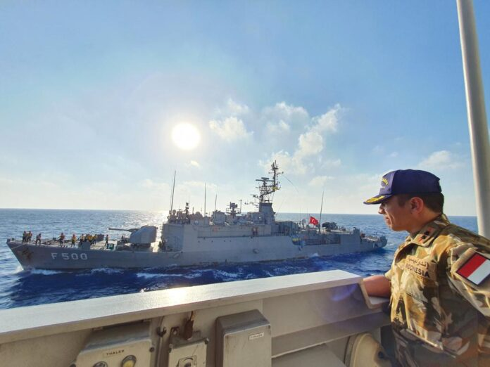 Indonesia-Turkey Navies hold joint exercises in the Mediterranean Sea