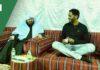 Lelaki Amerika mengucap syahadat di hadapan Syeikh Assudais
