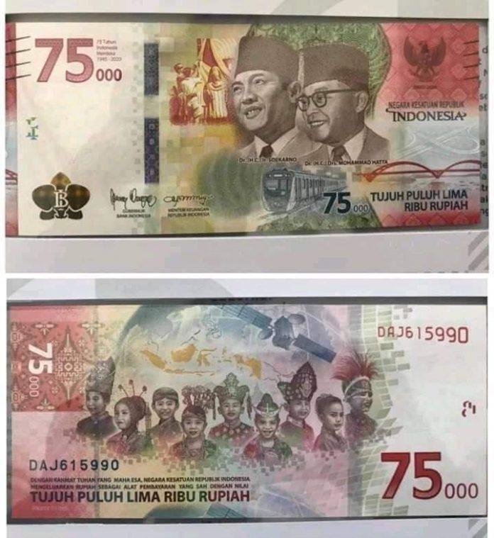 Pemerintah keluarkan uang baru peringati hari kemerdekaan