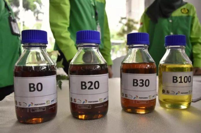 Indonesia uses 4.36 million kiloliters biodiesel in Semester I 2020