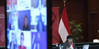 Indonesia encourages global cooperation on national protection, vaccine accessibility, pandemic mitigation
