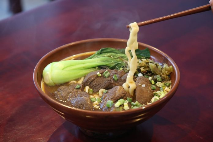 hongshao beef noodle