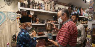 Indonesian handicrafts attract Egyptian tourist market