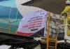 Penerbangan kargo perdana Manado-Narita bawa tuna dan pala