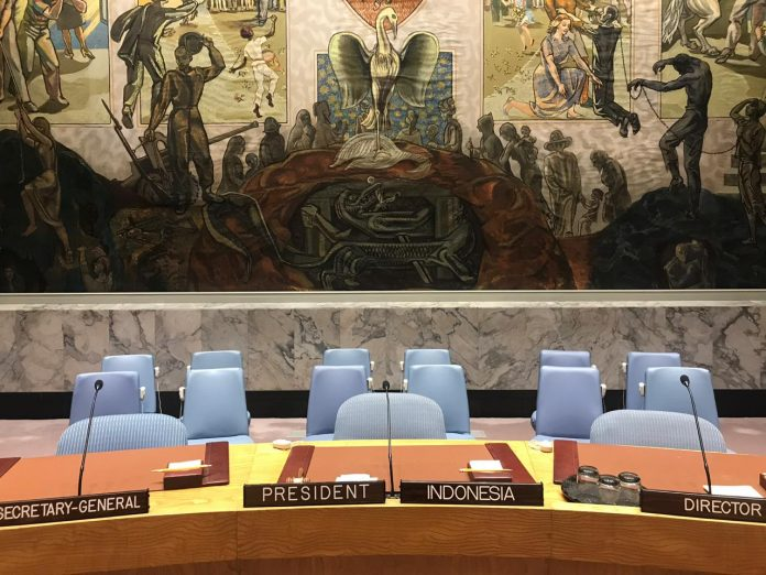 U.N. Security Council adopts four resolutions during Indonesian presidency