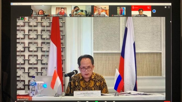 Indonesia-Russia agree to enhance trade, investment cooperation